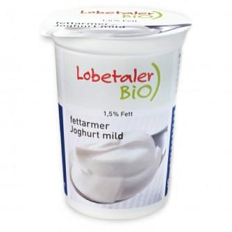 Jogurt naturalny odtłuszczony 1,5% Lobetaler BIO 150g