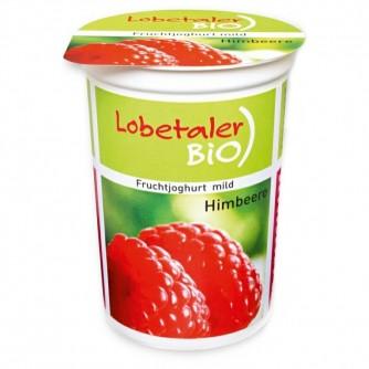 Jogurt malinowy 3,7% Lobetaler BIO 150g