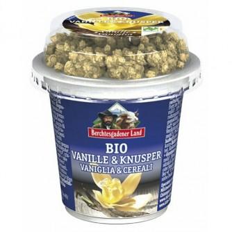Jogurt waniliowy z chrupiącym musli 3,9% Berchtesgadener Land 150g