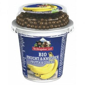 Jogurt bananowy z kulkami czekoladowymi 3,9% Berchtesgadener Land 150g