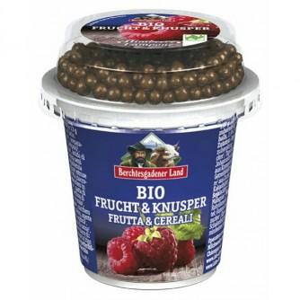 Jogurt malinowy z kulkami czekoladowymi 3,9% Berchtesgadener Land 150g