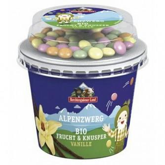Jogurt waniliowy z cukierkami czekoladowymi 3,9% Berchtesgadener Land 137g