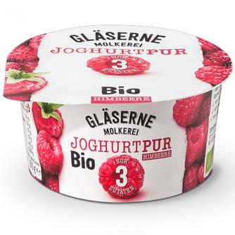 Jogurt malinowy 3,8% Gläserne Molkerei 150g