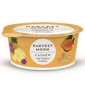 Jogurt z orzechów nerkowca z ananasem i mango Harvest Moon 125g