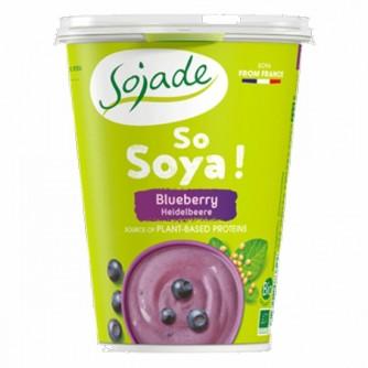 Jogurt sojowy jagodowy Sojade 400g