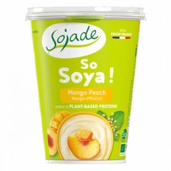 Jogurt sojowy z mango i brzoskwinią Sojade 400g