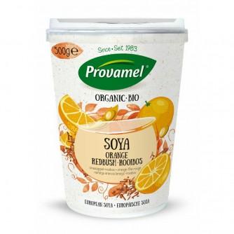 Jogurt sojowy z pomarańczą i herbatą Rooibos Provamel 500g