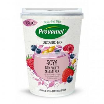 Jogurt sojowy z owocami leśnymi Provamel 500g