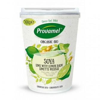 Jogurt sojowy z limonką i melisą Provamel 500g