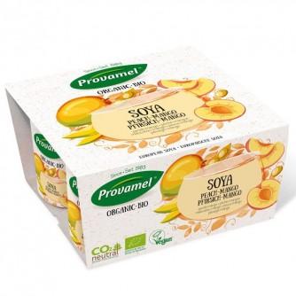 Jogurt sojowy z brzoskwinią i mango Provamel 4x125g
