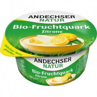 Twarożek śniadaniowy cytrynowy Andechser Natur 150g