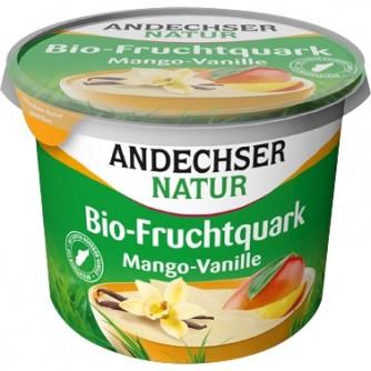 Twarożek śniadaniowy waniliowy z mango Andechser Natur 450g
