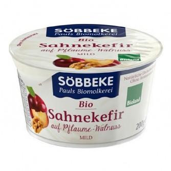 Deser śmietankowy ze śliwką i orzechami Söbbeke 200g