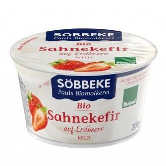 Deser śmietankowy z truskawkami Söbbeke 200g