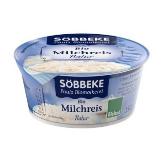 Ryż na mleku naturalny Söbbeke 150g
