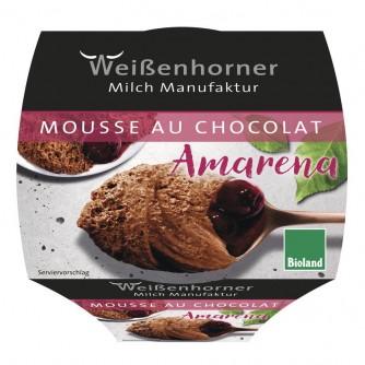 Mus czekoladowy z wiśnią Weissenhorner 80g