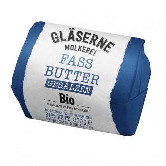 Masło solone Gläserne Molkerei 250g