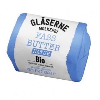 Masło naturalne Gläserne Molkerei 250g