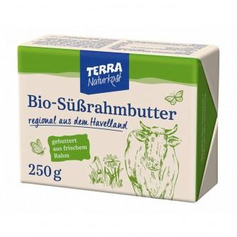 Masło śmietankowe 82% Terra Naturkost 250g