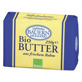 Masło śmietankowe 82% Upländer Bauern Molkerei 250g