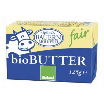 Masło śmietankowe 82% Upländer Bauern Molkerei 125g