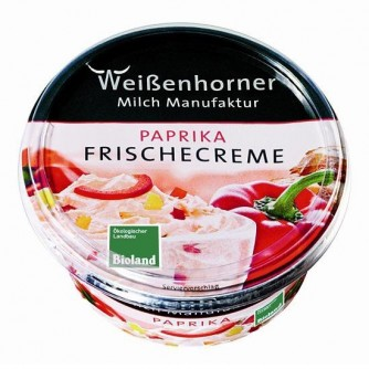 Serek kremowy z papryką Weissenhorner 150g