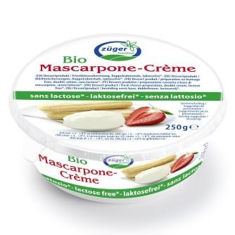 Mascarpone bez laktozy Züger Frischkäse 250g