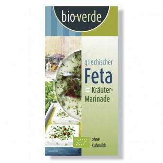 Feta w ziołowej marynacie Bio Verde 150g