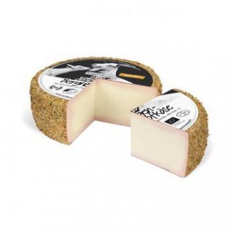 Kozi ser z przyprawami korzennymi dojrzewający przez 6 tygodni Berghof Gewürz-Blüte 1 kg Roggenburger BIO