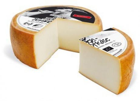 Wędzony kozi ser górski dojrzewający przez 6 tygodni 1 kg Roggenburger BIO