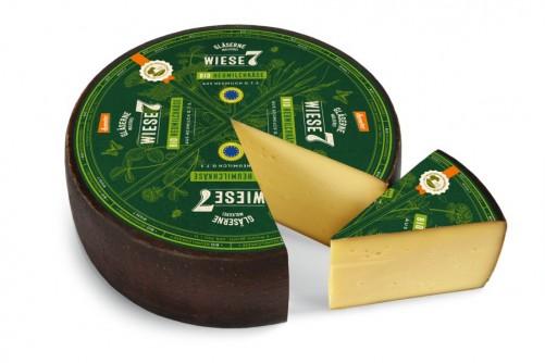 Ser z mleka od krów pastwiskowych dojrzewający 6 miesięcy 4 kg Gläserne Molkerei