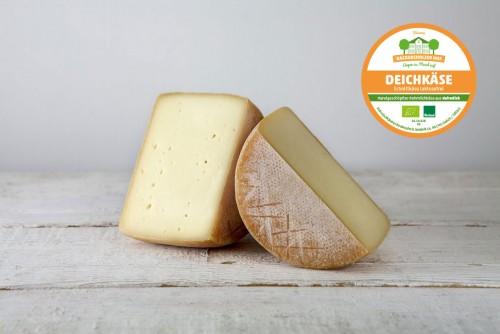 Młody ser krowi dojrzewający 10 tygodni Deichkäse 0,7 kg Backensholz
