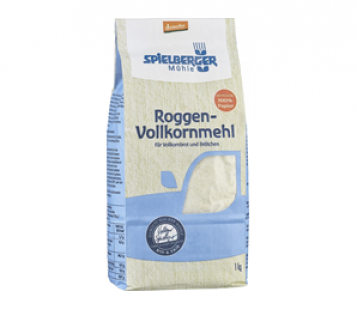 Mąka żytnia pełnoziarnista 1 kg Spielberger Mühle