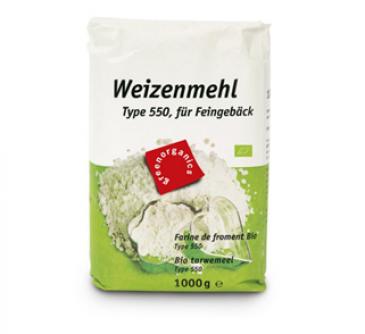 Mąka pszenna typ 550 1 kg Greenorganics