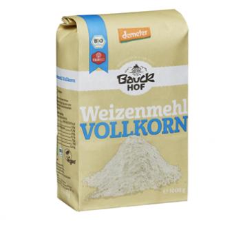 Mąka pszenna z pełnego ziarna 1 kg Bauck Hof