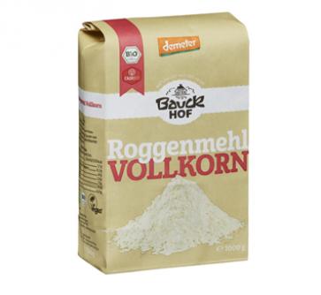 Mąka żytnia pełnoziarnista 1 kg Greenorganics