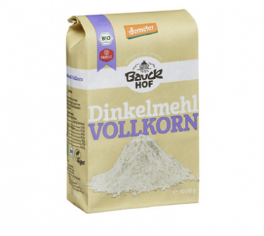 Mąka pełnoziarnista orkiszowa 1 kg Greenorganics