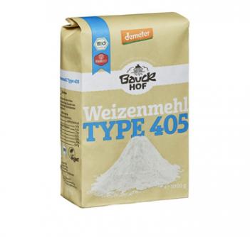 Mąka pszenna typ 405 1 kg Bauck Hof