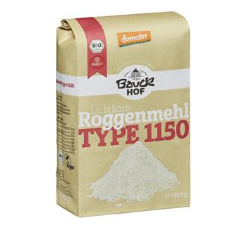 Mąka żytnia typ 1150 1 kg Bauck Hof