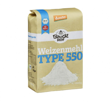 Mąka pszenna typ 550 1 kg Bauck Hof