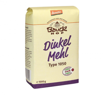 Mąka orkiszowa typ 1050 500 g Bauck Hof