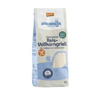 Mąka ryżowa pełnoziarnista 500 g Spielberger Mühle