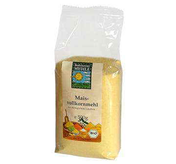 Mąka kukurydziana pełnoziarnista 500 g Bohlsener Mühle