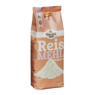 Mąka ryżowa pełnoziarnista 500 g Bauck Hof