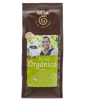 2x Kawa ziarnista Café Orgánico 250g 100% Arabica