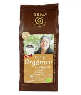 2x Kawa mielona bez kofeiny Café Orgánico 250g 100% Arabica