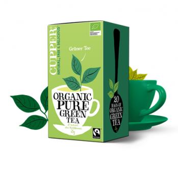 Zielona herbata Cupper Teas 20x1,75g