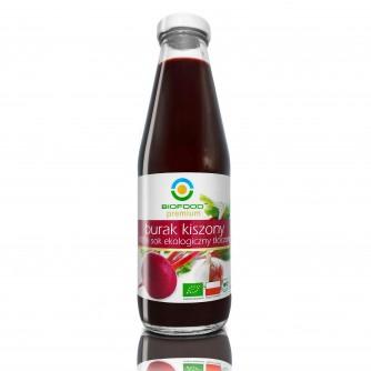 Ekologiczny sok z buraków kiszonych Bio Food 500ml