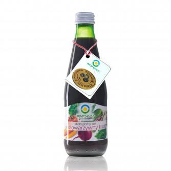 Ekologiczny sok wielowarzywny kiszony Bio Food 300ml