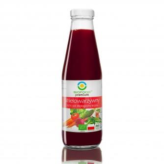 Ekologiczny sok wielowarzywny kiszony Bio Food 500ml